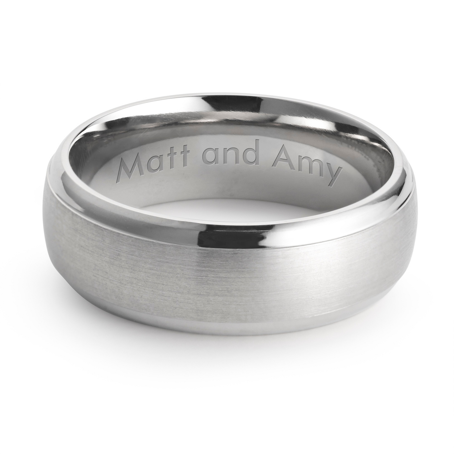 engraved mens rings at things remembered