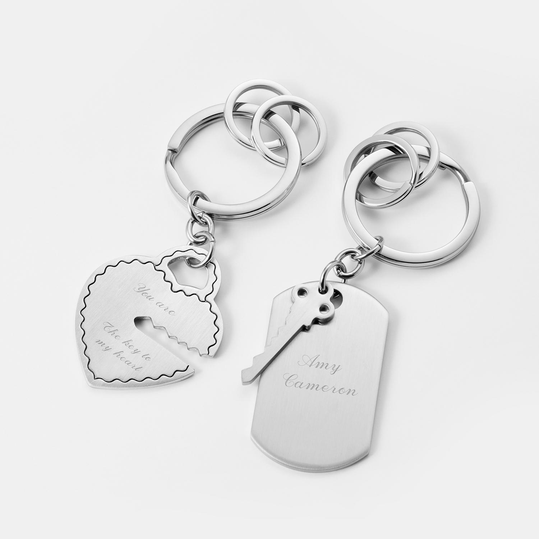 df5a47116e Key To My Heart Key Chain Set