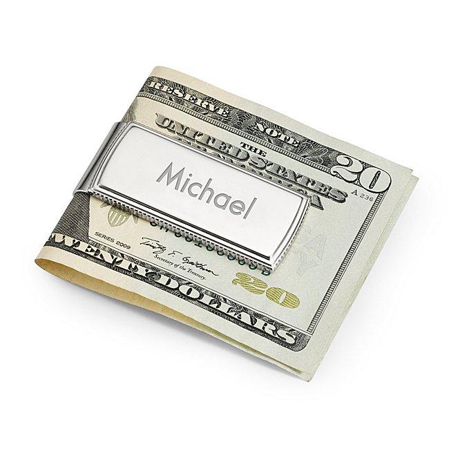 Platinum Plated Money Clip