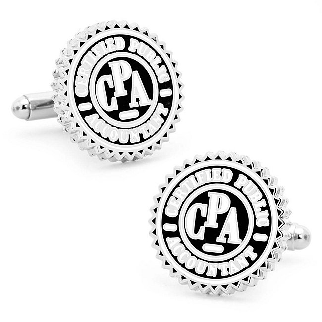 CPA Seal Cuff Links