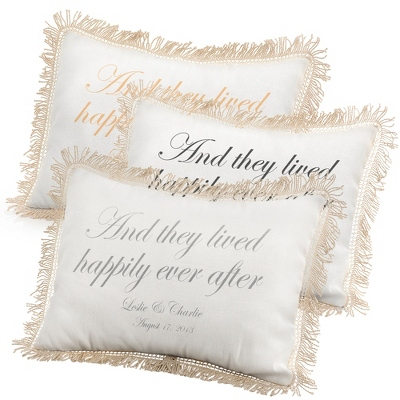 They Lived Delightedly Ever After Pillows