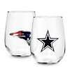 NFL Stemless Wine Glasses at Things Remembered