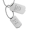 Urban Double Dog Tag at Things Remembered